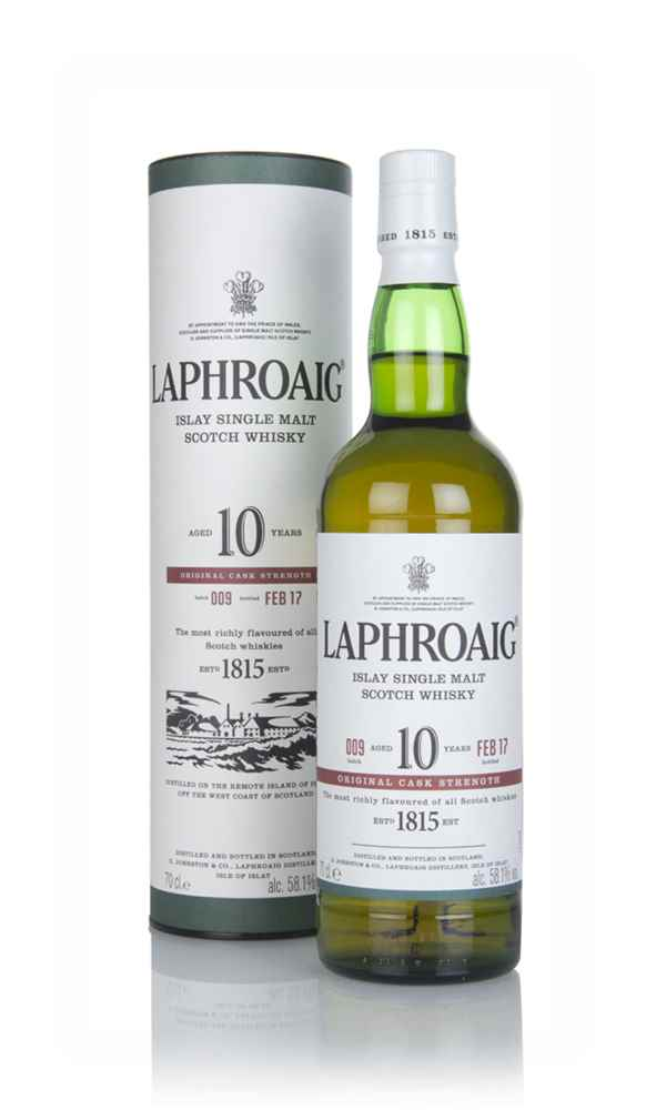 Laphroaig 10 Year Old Cask Strength - Batch 009