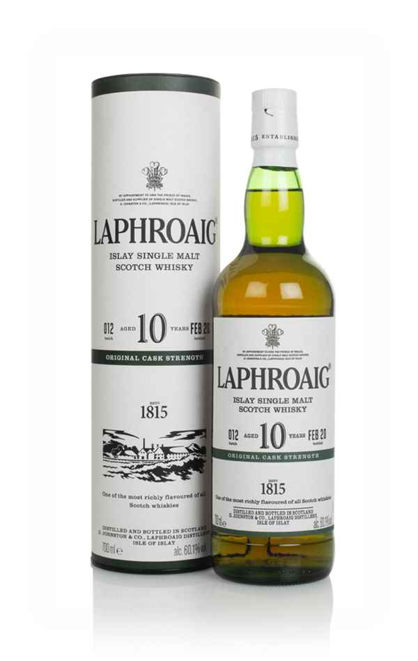 Laphroaig 10 Year Old Cask Strength - Batch 012