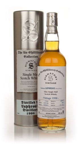 Laphroaig 15 Year Old 1998 (cask 700351) - Un-Chillfiltered (Signatory)