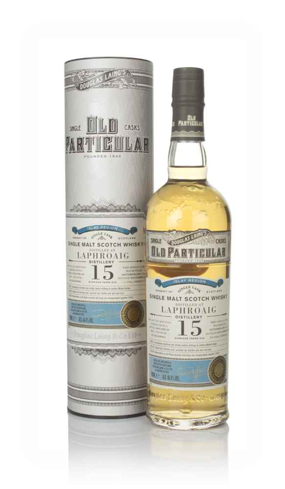 Laphroaig 15 Year Old 2004 (cask 13452) - Old Particular (Douglas Laing)