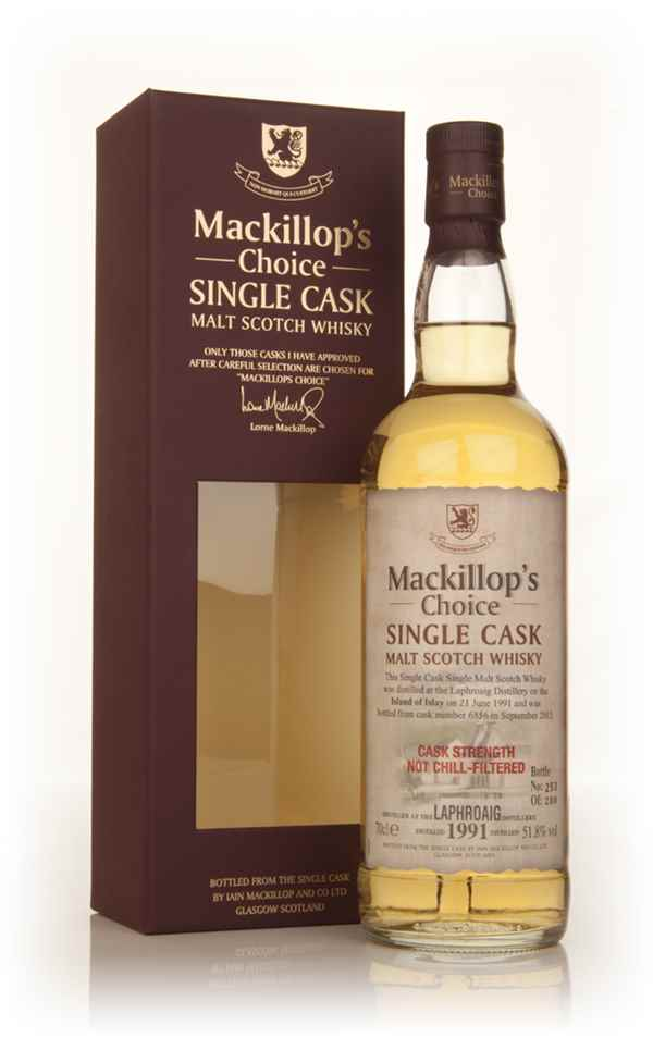 Laphroaig 22 Year Old 1991 (cask 6856) - Mackillop's Choice