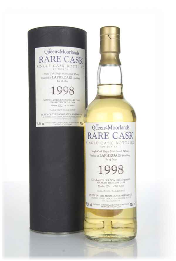 Laphroaig 8 Year Old 1998 - The Queen of the Moorlands