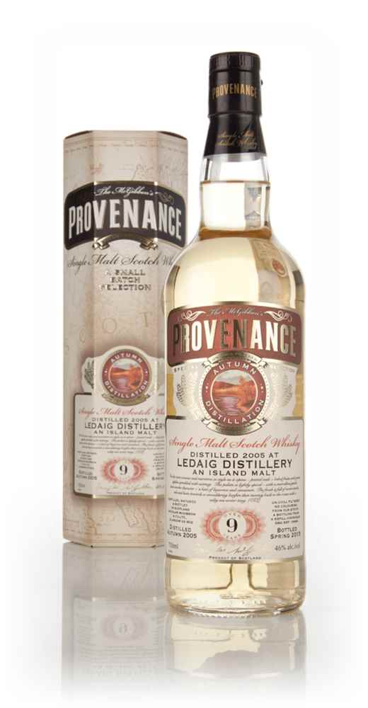 Ledaig 9 Year Old 2005 (cask 10698) - Provenance (Douglas Laing)