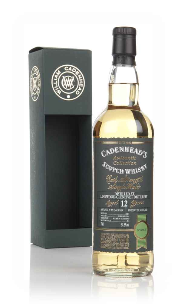 Linkwood 12 Year Old 2001 - Authentic Collection (WM Cadenhead) (bottled 02/2014)
