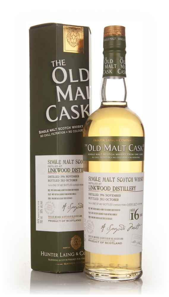 Linkwood 16 Year Old 1996 (cask 10068) - Old Malt Cask (Hunter Laing)