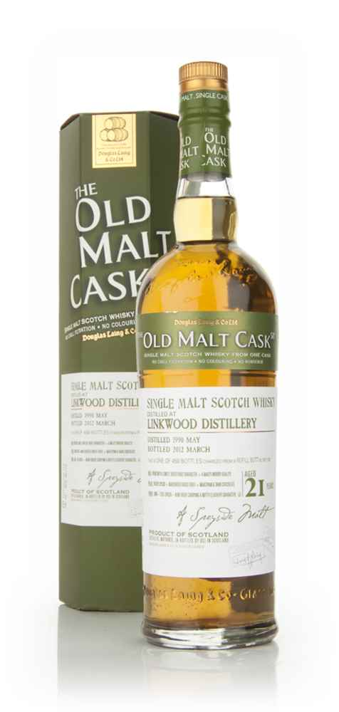 Linkwood 21 Year Old 1990 - Old Malt Cask (Douglas Laing)