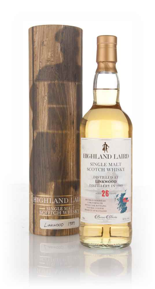 Linkwood 26 Year Old 1989 - Highland Laird (Bartels Whisky)