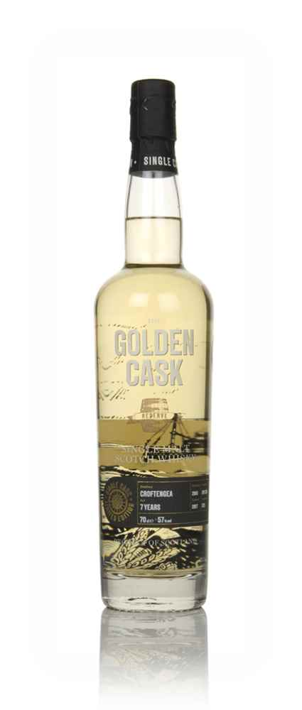 Croftengea 7 Year Old 2010 (cask CM236) - The Golden Cask (House of Macduff)