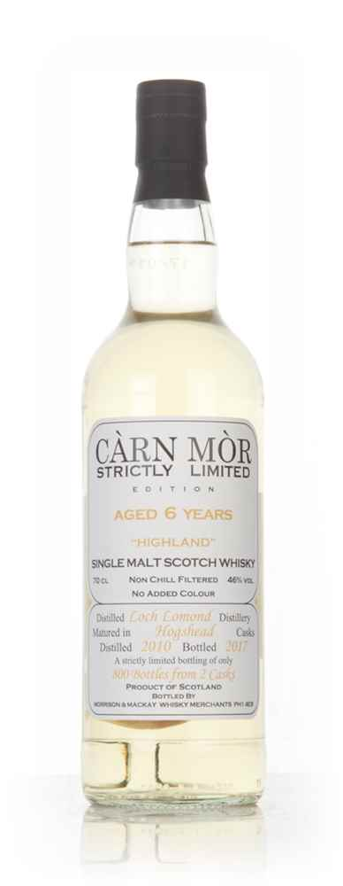 Loch Lomond 6 Year Old 2010 - Strictly Limited (Càrn Mòr)