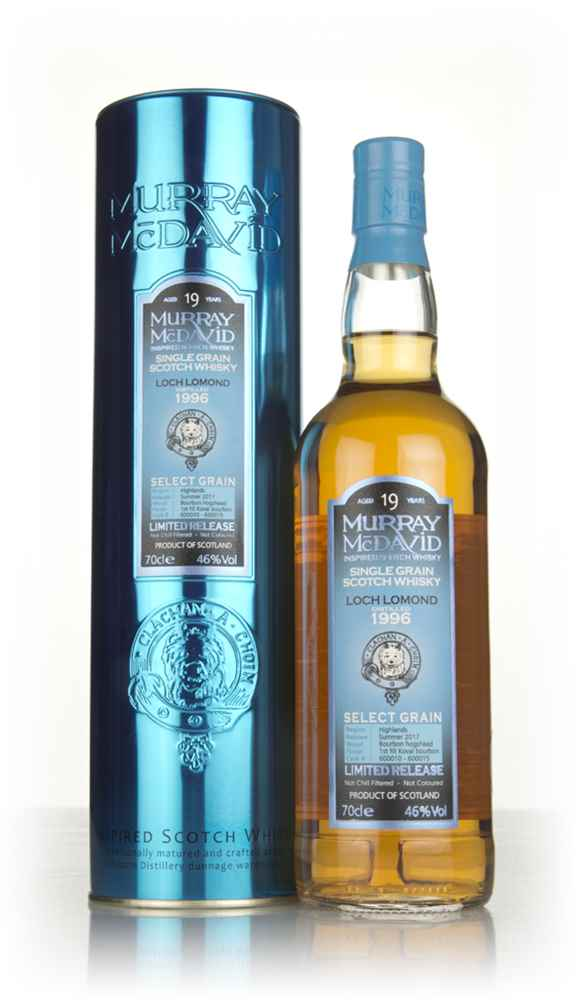 Loch Lomond 19 Year Old 1996 (casks 600010 - 600015) - Select Grain (Murray McDavid)