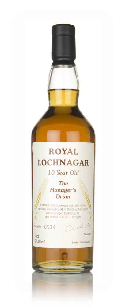 Royal Lochnagar 10 Year Old - The Manager's Dram