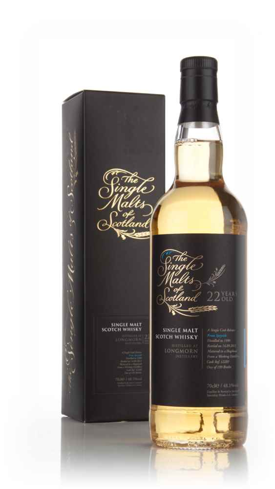 Longmorn 22 Year Old 1990 (cask 12289) - Single Malts of Scotland (Speciality Drinks)