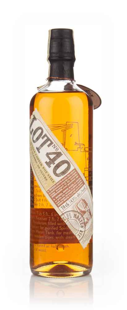 Lot 40 Rye Whisky - early 2000s