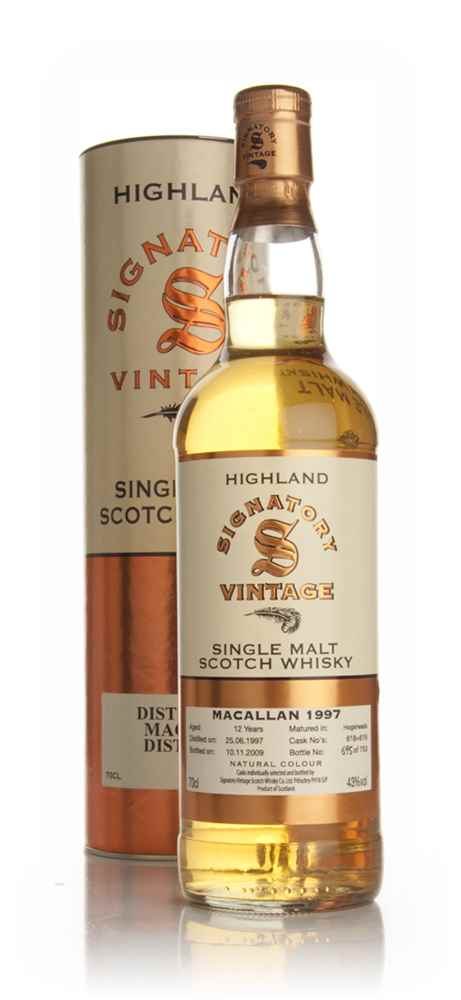 Macallan 12 Year Old 1997 (Signatory)