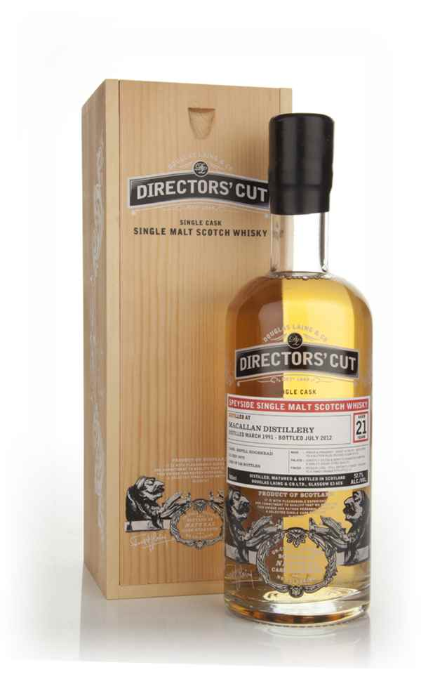 Macallan 21 Years Old 1991 (cask 8972) - Directors' Cut (Douglas Laing)