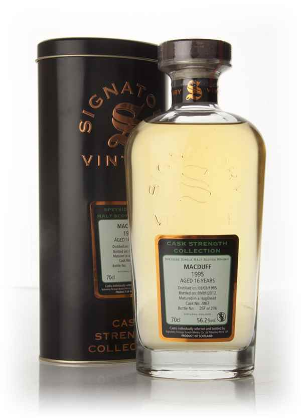 Macduff 16 Year Old 1995 (cask 7867) - Cask Strength Collection (Signatory)