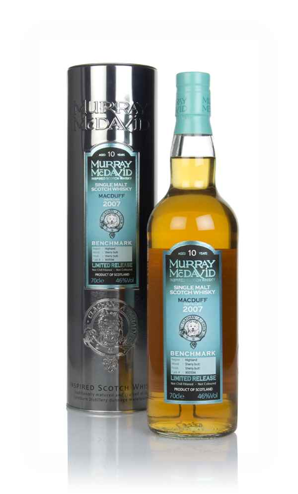 Macduff 10 Year Old 2007 (cask 900594) - Benchmark (Murray McDavid)