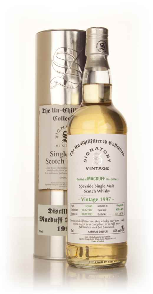 Macduff 15 Year Old 1997 (casks 4070+4071) - Un-Chillfiltered (Signatory)