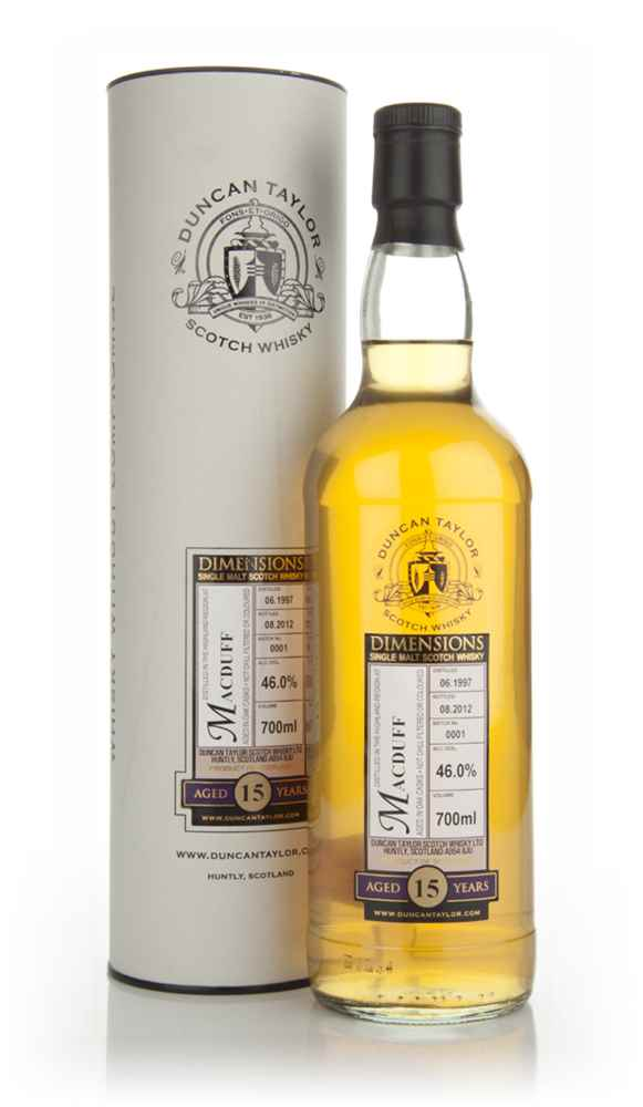 Macduff 15 Year Old 1997 - Dimensions (Duncan Taylor)