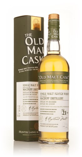 Macduff 21 Year Old 1991 (9909) - Old Malt Cask (Hunter Laing)