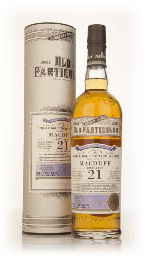 Macduff 21 Year Old 1992 (cask 9905) - Old Particular (Douglas Laing)