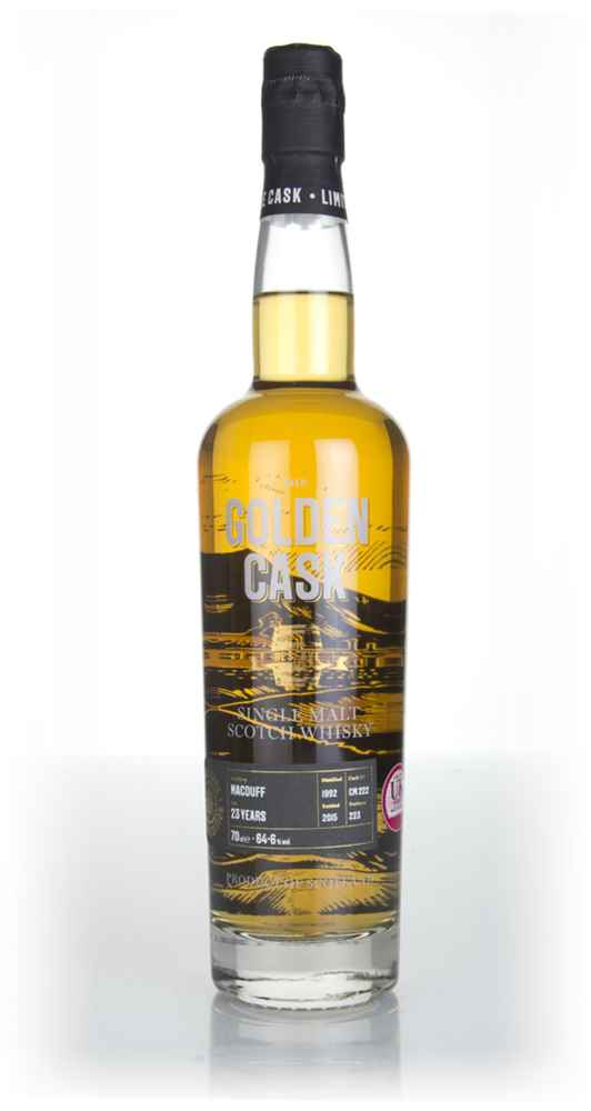 Macduff 23 Year Old 1992 (cask CM222) - The Golden Cask (House of Macduff)