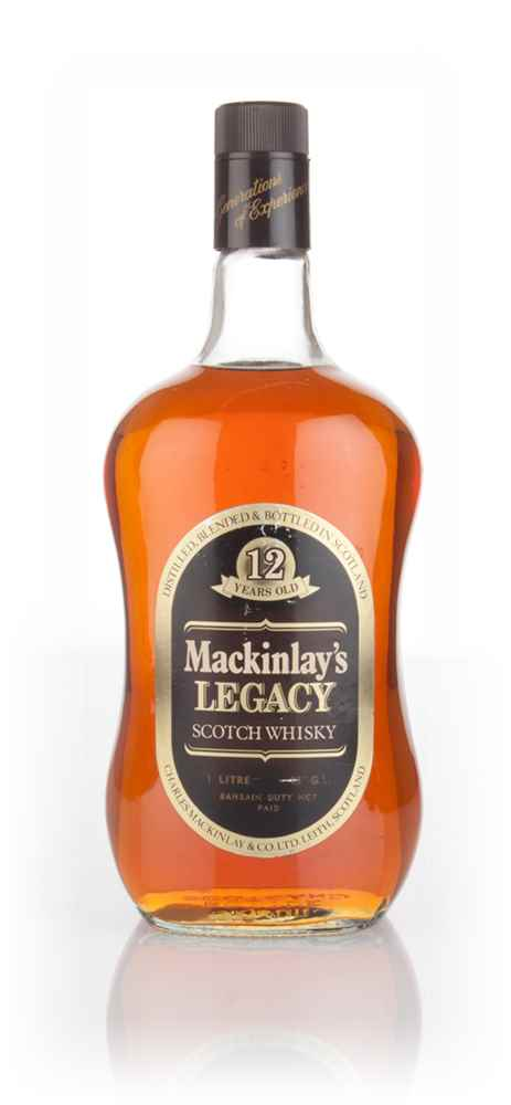Mackinlay's 12 Year Old Legacy 1L - 1970s