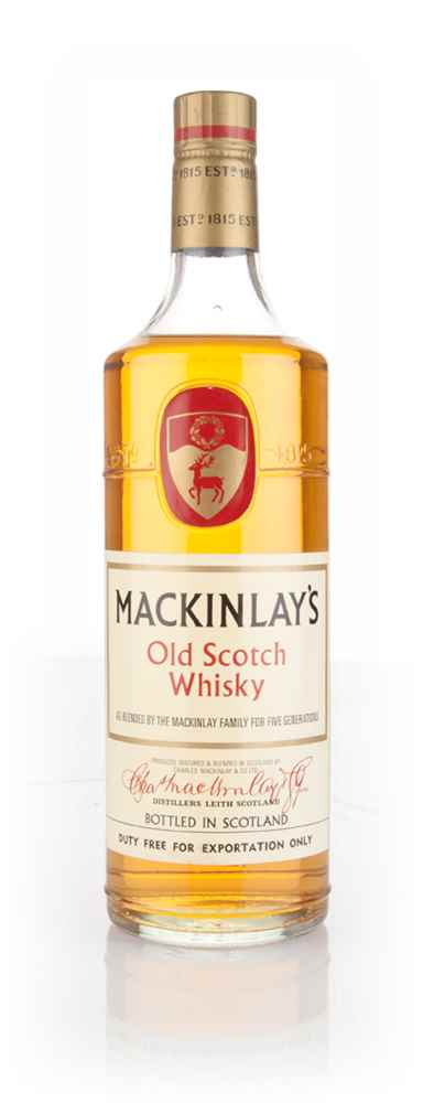 Mackinlay's Old Scotch Whisky - 1970s