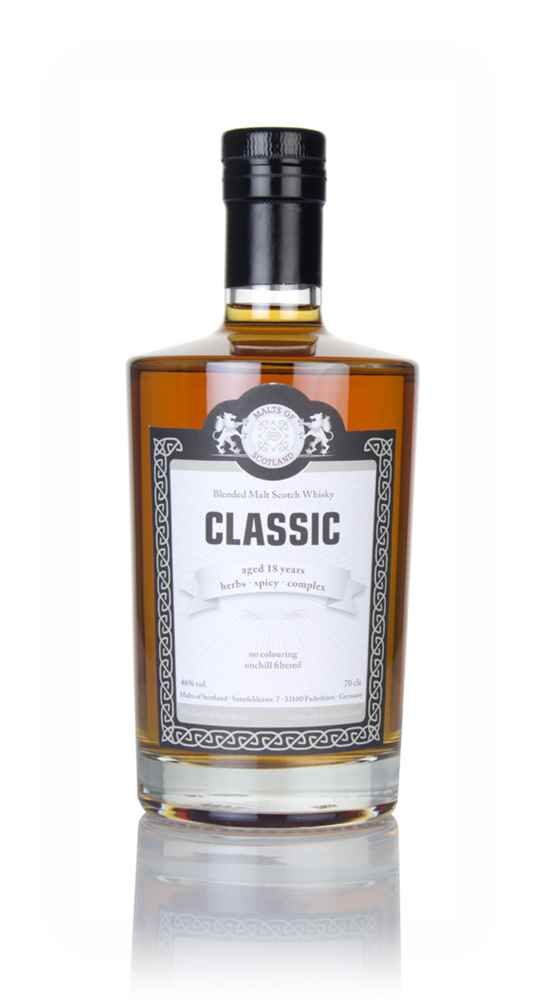 Malts of Scotland 18 Year Old Classic