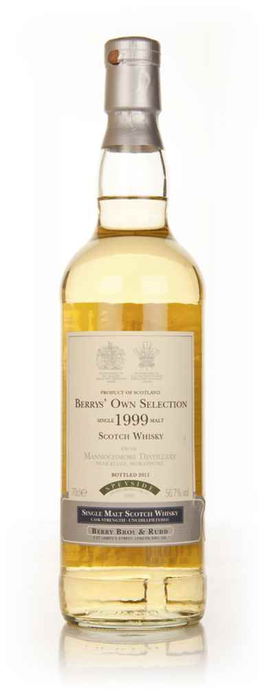 Mannochmore 1999 (Berry Bros. & Rudd)