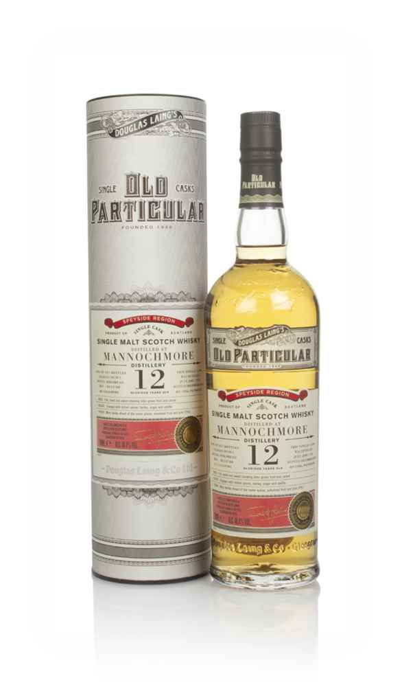 Mannochmore 12 Year Old 2007 (cask 13780) - Old Particular (Douglas Laing)