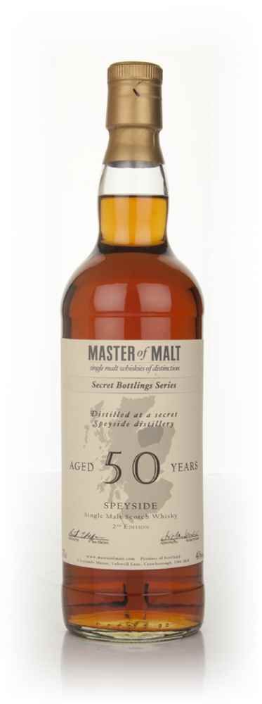 Master of Malt 50 Year Old Speyside (2nd Edition)