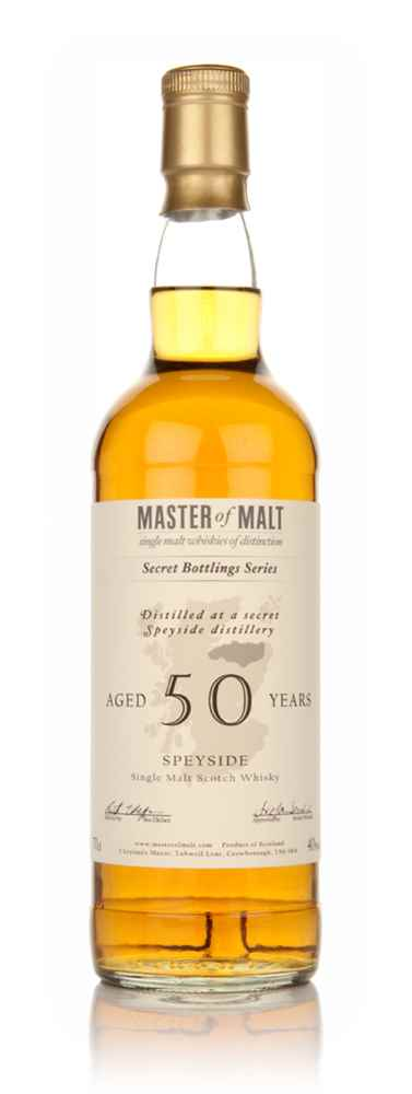 Master of Malt 50 Year Old Speyside (1st Edition)
