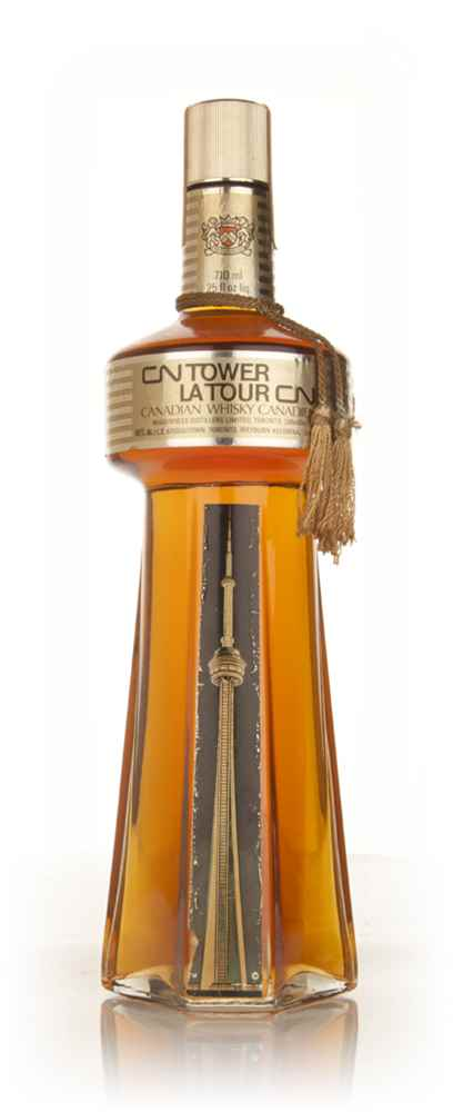 McGuinness CN Tower Canadian Whisky - 1970
