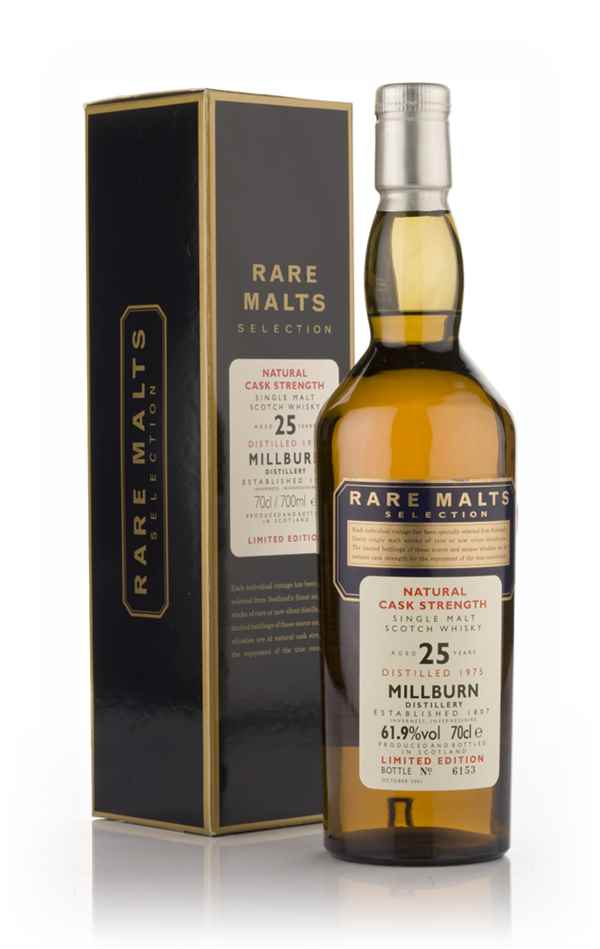 Millburn 25 Year Old 1975 - Rare Malts