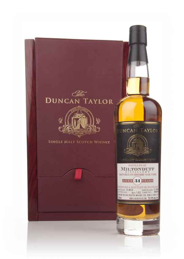 Miltonduff 31 Year Old 1982 (cask 836346) - The Duncan Taylor Single