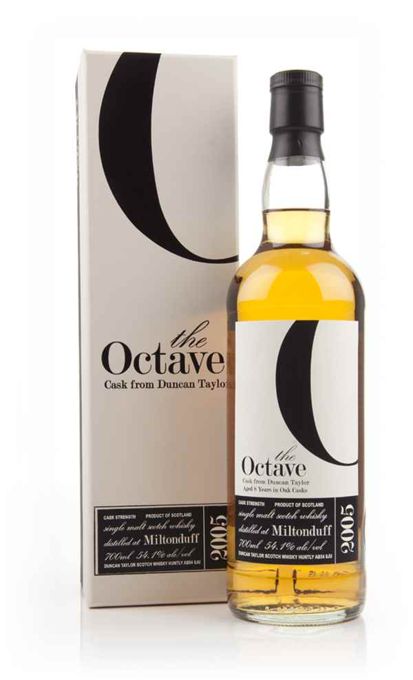 Miltonduff 8 Year Old 2005 (cask 835165) - The Octave (Duncan Taylor)