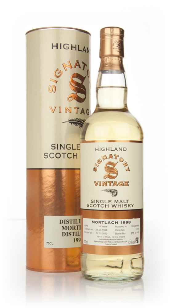 Mortlach 13 Year Old 1998 (Signatory)