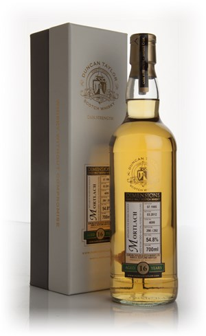 Mortlach 16 Year Old 1995 Cask 4099 - Dimensions (Duncan Taylor)