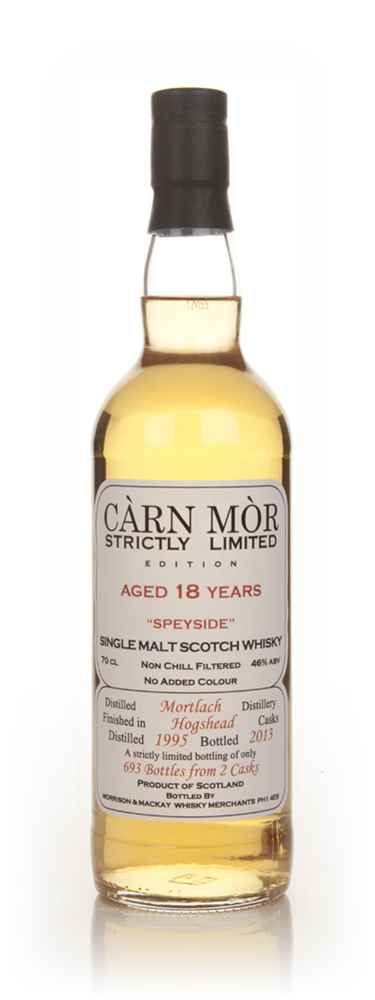 Mortlach 18 Year Old 1995 - Strictly Limited (Càrn Mòr)