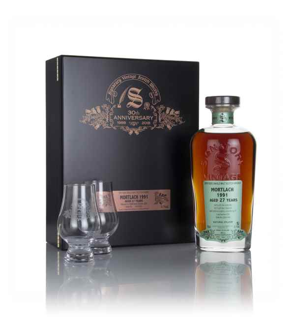 Mortlach 27 Year Old 1991 (cask 4239) - 30th Anniversary Gift Box (Signatory)