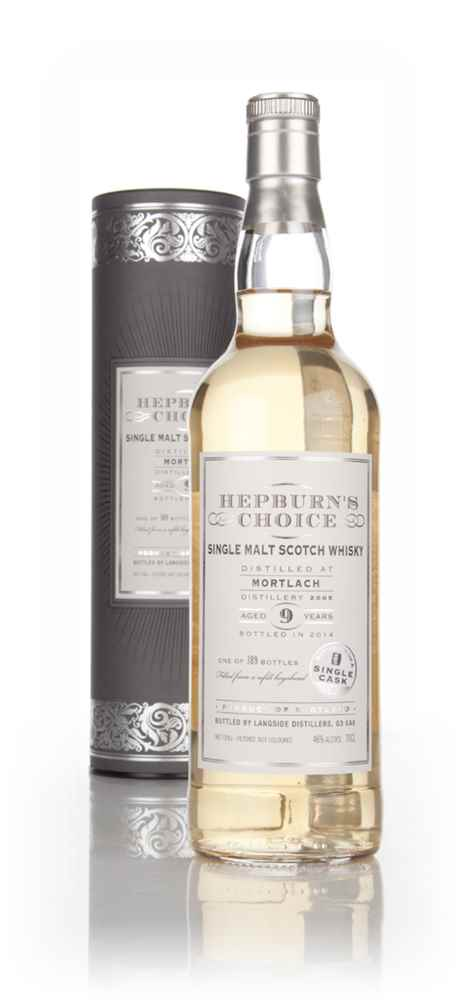 Mortlach 9 Year Old 2005 - Hepburn's Choice (Langside)