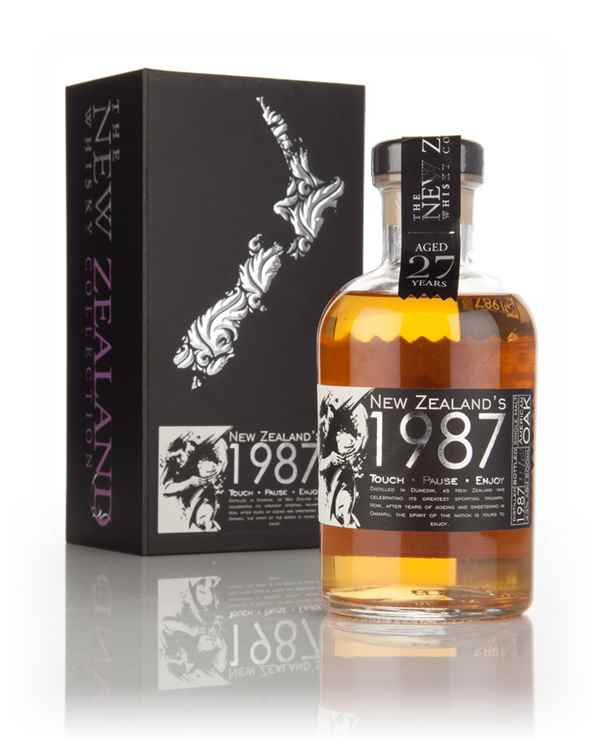 The 1987 - 27 Year Old Touch.Pause.Enjoy (The New Zealand Whisky Company)