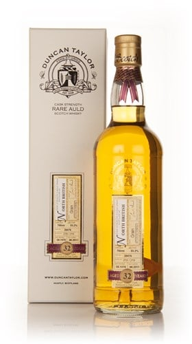 North British 32 Year Old 1978 Cask 38476 - Rare Auld (Duncan Taylor)