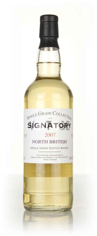 North British 10 Year Old 2007 - Single Grain Collection (Signatory)