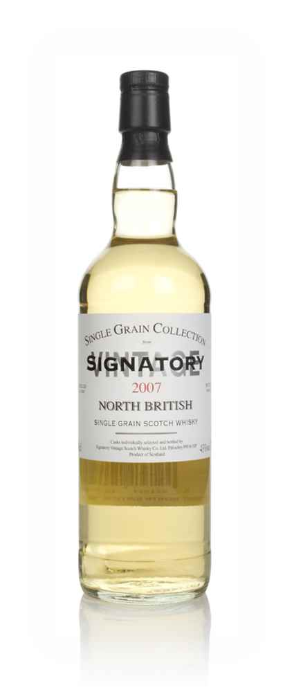North British 12 Year Old 2007 - Single Grain Collection (Signatory)