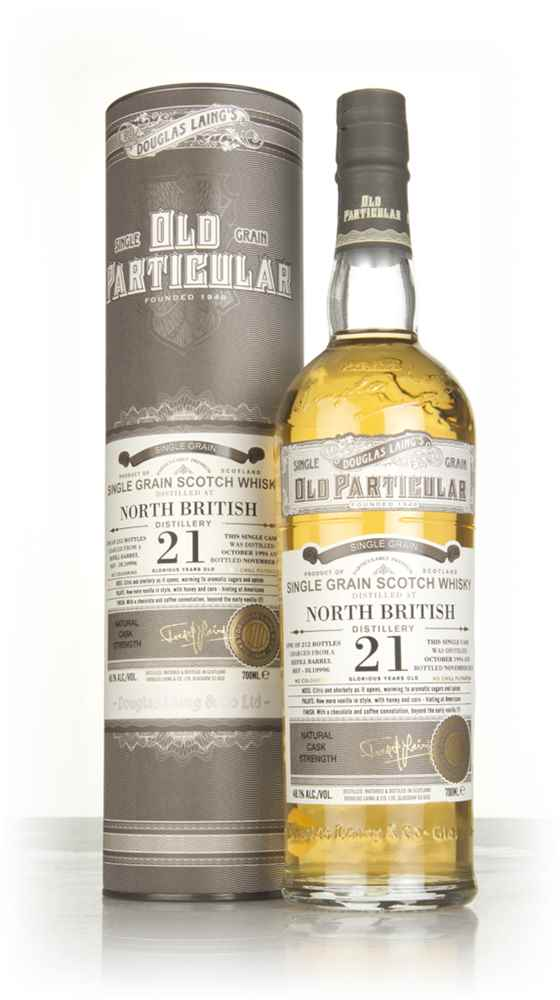 North British 21 Year Old 1994 (cask 10996) - Old Particular (Douglas Laing)