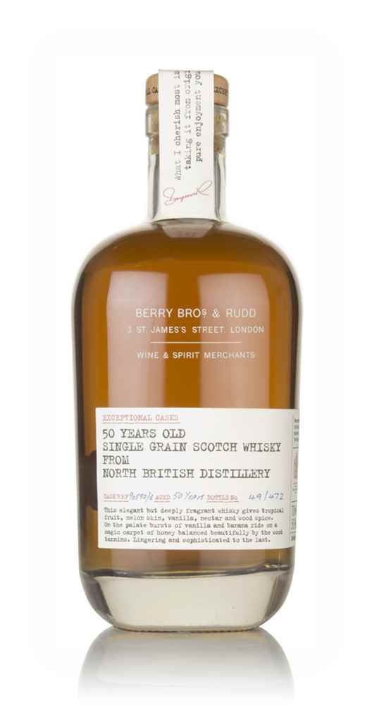 North British 50 Year Old (casks 90592 and 90593) - Exceptional Casks (Berry Bros. & Rudd)