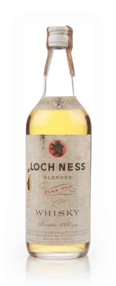 Loch Ness Blended Fine Old Whisky - 1960s