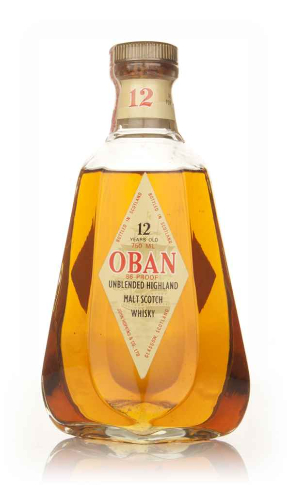 Oban 12 Year Old Single Malt Scotch Whisky - 1970s